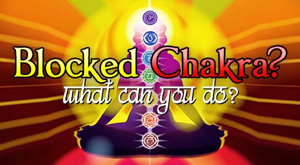 blocked chakra