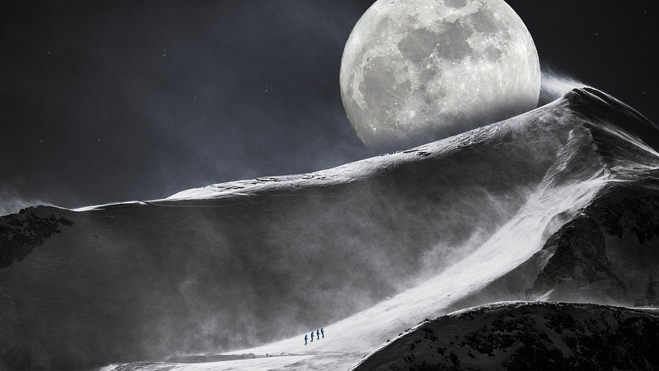 The Super Snow Moon – 19th February 2019 – WDS Media
